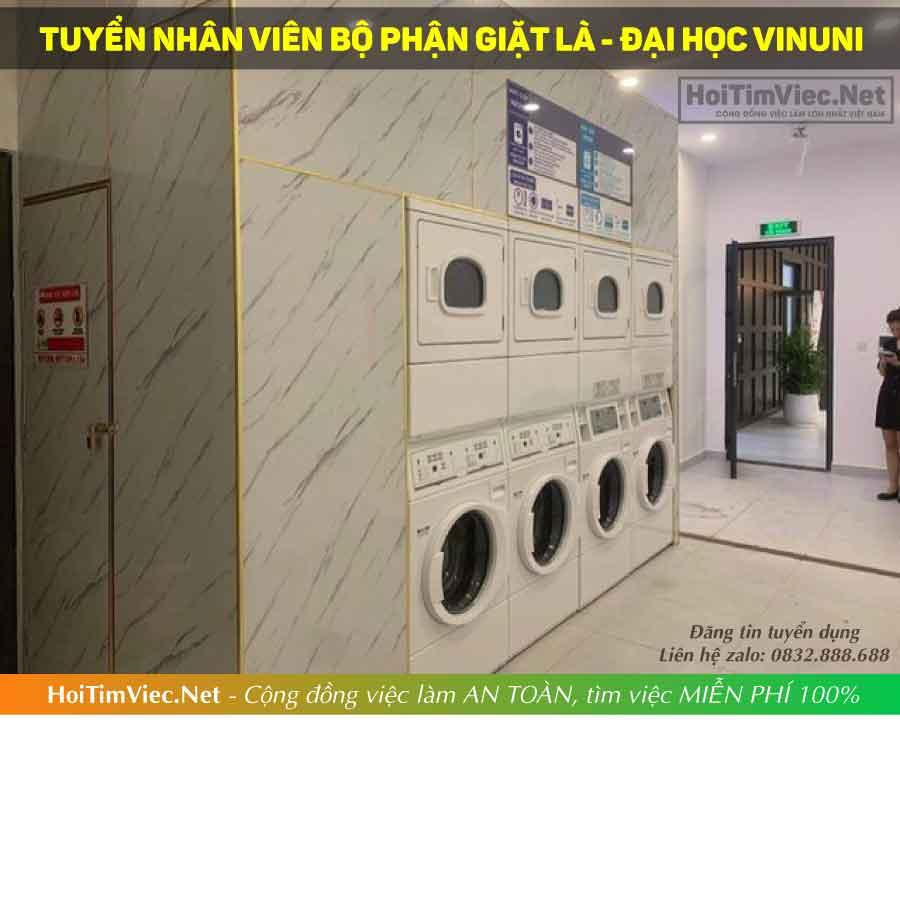 Tuyển nhân viên giặt là – Bộ phận giặt là đại học VinUni