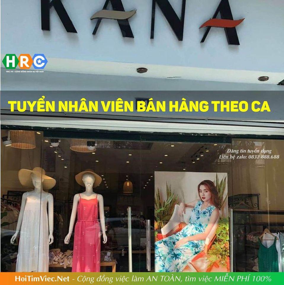 Tuyển nhân viên bán hàng thời trang – Kana Shop