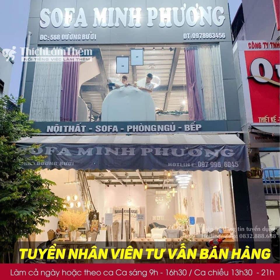 Tuyển nhân viên tư vấn bán hàng – Sofa Minh Phương