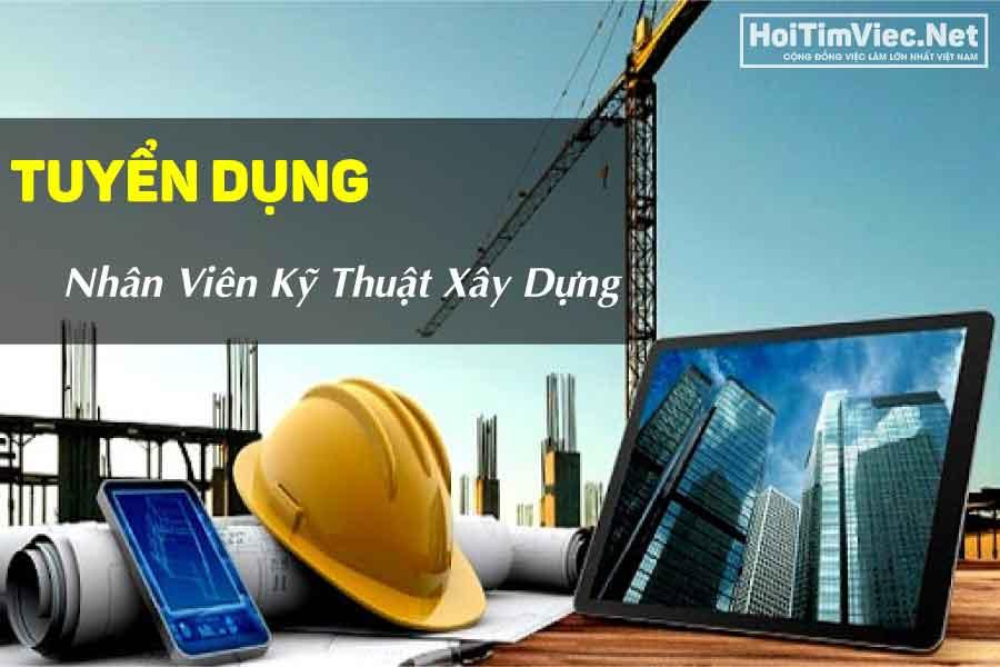 Tuyển nhân viên kỹ thuật xây dựng – Công ty xây dựng COVIC