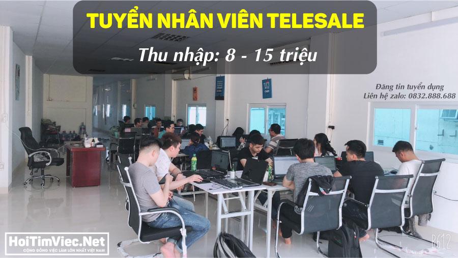 Tuyển nhân viên telesale lương cao – Công ty Hand Việt Nam