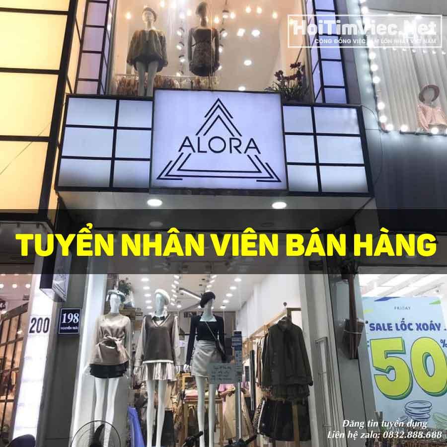 Tuyển nhân viên bán hàng – Shop Alora