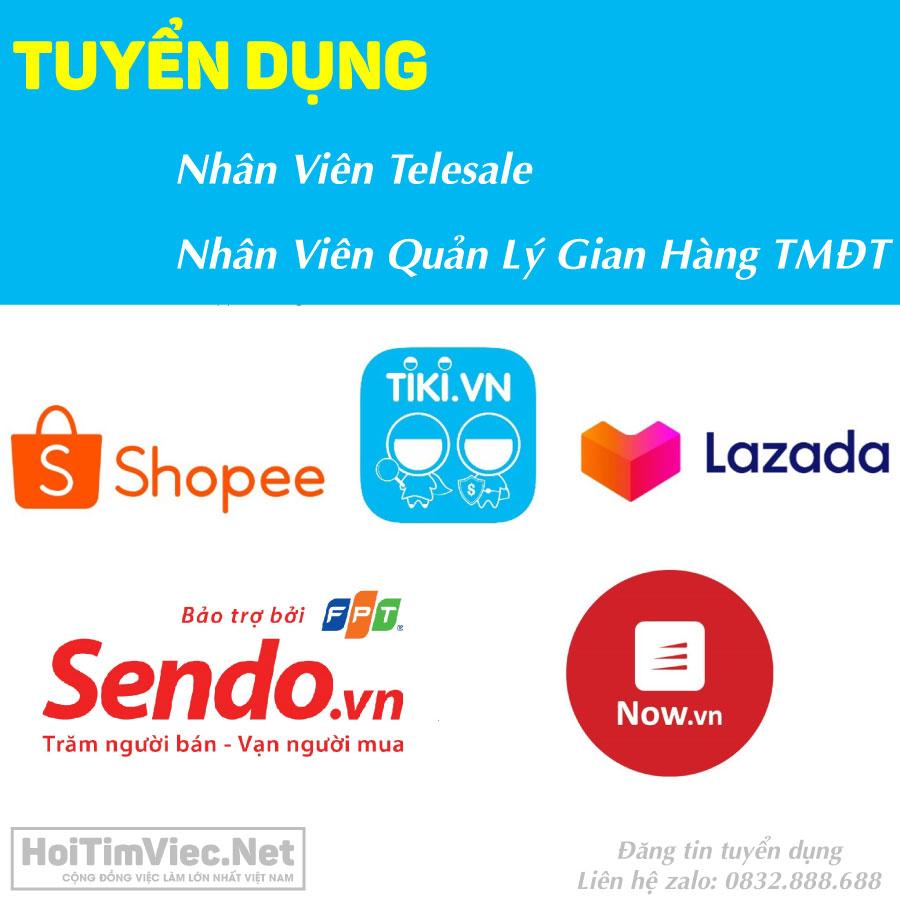 Tuyển nhân viên bán bán hàng TMĐT, Telesale – Shop gia dụng Online