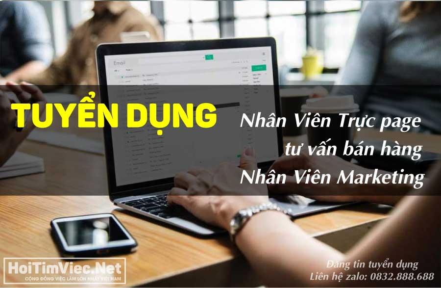 Tuyển nhân viên trực fanpage, marketing – Bling Bling Store