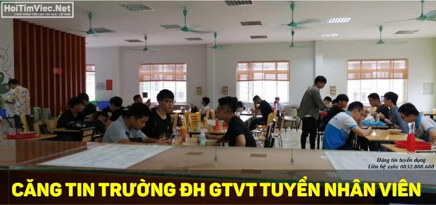 Tuyển nhân viên bán hàng – Căng tin trường ĐH GTVT
