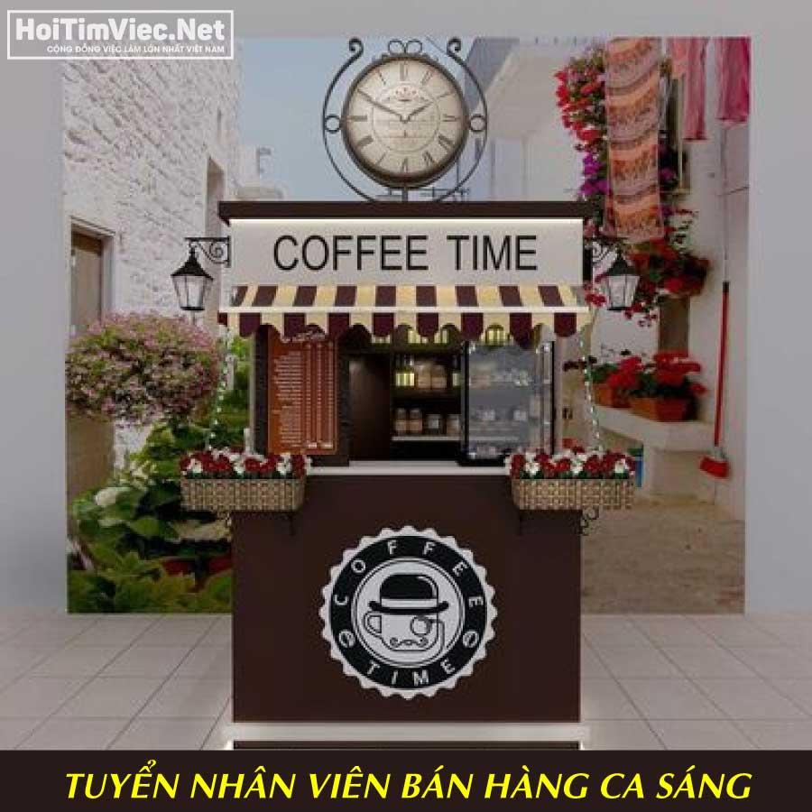 Tuyển nhân viên bán hàng cafe take away