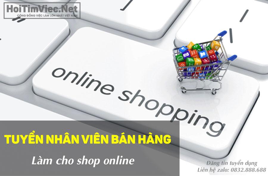 Tuyển nhân viên bán hàng online