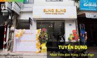 Tuyển nhân viên trực fanpage, bán hàng – Bling Bling Store