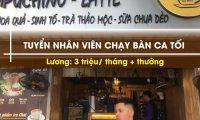 Tuyển nhân viên phục vụ – Quán Cafe 37 Thái Phiên