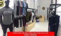 Tuyển nhân viên trực page bán hàng, NV kho – Shop thời trang