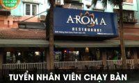 Tuyển nhân viên phục vụ – Nhà hàng Aroma