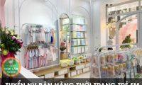 Tuyển nhân viên bán hàng – Cửa hàng thời trang trẻ em Baby Closet