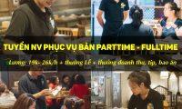 Tuyển nhân viên phục vụ – Bếp Thái Koh Yam