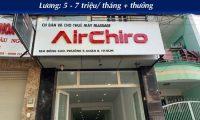 Tuyển nhân viên chăm sóc khách hàng – Cửa hàng Airchiro, Happy Power, Happy Plus