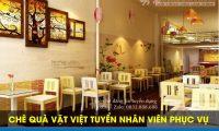 Tuyển nhân viên phục vụ bàn – Quán chè quà vặt Việt