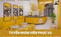 Tuyển nhân viên phục vụ, pha chế – Cửa hàng Chick Garden