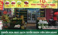 Tuyển nhân viên bán hàng – Chuỗi cửa hàng hoa quả sạch PhucLinh