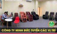 Tuyển nhân viên kinh doanh, kế toán, part time – Công ty TNHH Đầu tư SX & XNK Minh Đức