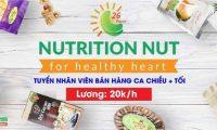 Tuyển nhân viên bán hàng – Cửa hàng Tropical Nuts