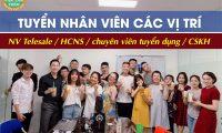 Tuyển nhân viên văn phòng, chuyên viên tuyển dụng, hành chính nhân sự – Công ty NQA COMPANY
