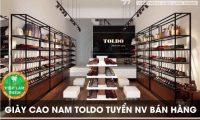 Tuyển nhân viên bán hàng – Shop giày cao nam Toldo