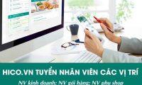 Tuyển nhân viên đóng gói, kho – Shop OnlineHico