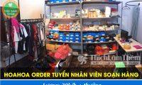 Tuyển nhân viên soạn hàng, trả lời khách – Cửa hàng Hoahoa Order