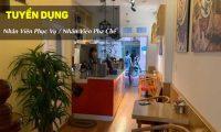 Tuyển nhân viên phục vụ, pha chế – Hồng Kỳ International Coffee
