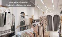 Tuyển nhân viên bán hàng, sales – H.Y Boutique