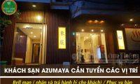 Tuyển nhân viên bell man, phục vụ – Khách sạn Azumaya