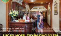 Tuyển nhân viên buồng, bell, sale, lễ tân – Khách sạn Lucky Hotel