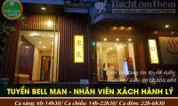 Tuyển nhân viên bell man – Khách sạn nhật bản Azumaya