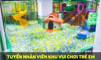 Tuyển nhân viên phục vụ – Khu vui chơi trẻ em Mr.HaaHoo