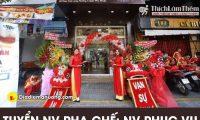 Tuyển nhân viên phục vụ, pha chế – Cửa hàng Meet Fresh Việt Nam