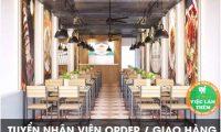 Tuyển nhân viên thu ngân, pha chế – Quán Oribean Coffee