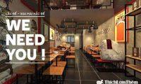 Tuyển nhân viên bàn và phụ bếp – Nhà hàng Lẩu Đế