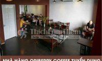 Tuyển nhân viên phục vụ, pha chế, trưởng ca – Hệ thống cà phê nhà hàng Oriberry Coffee