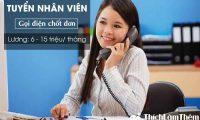 Tuyển nhân viên gọi điện chốt đơn – Công Ty TNHH Aion Việt Nam