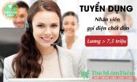 Tuyển nhân viên telesales – Công ty TNHH Wall Street