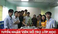 Tuyển nhân viên hỗ trợ lớp học – Công Ty VTD