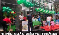 Tuyển nhân viên thị trường – Công ty TNHH thực phẩm sạch ABC