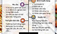 Tuyển nhân viên nhiều vị trí – Nhà Hàng Pizza Hut Nghi Tàm
