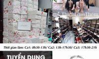 Tuyển nhân viên bán hàng, CSKH, xử lý đơn, Telesale – Shop Ly giày VNXK