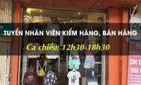 Tuyển nhân viên bán hàng – Shop Nhím