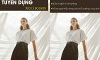 Tuyển trợ lý booker – hỗ trợ người mẫu – Tay Models Agency