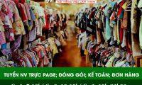 Tuyển nhân viên trực page, đóng gói, kế toán, check đơn – Thời trang BK Fashion