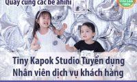 Tuyển nhân viên chăm sóc khách hàng – Studio Tiny Kapok