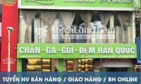 Tuyển nhân viên bán hàng, giao hàng, bán hàng online – Cửa hàng chăn ga
