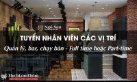 Tuyển nhân viên nhiều vị trí – Nhà hàng Ngó Sen