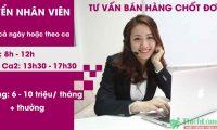 Tuyển nhân viên tư vấn bán hàng lương 6 – 10 triệu – Công ty Aion Việt Nam